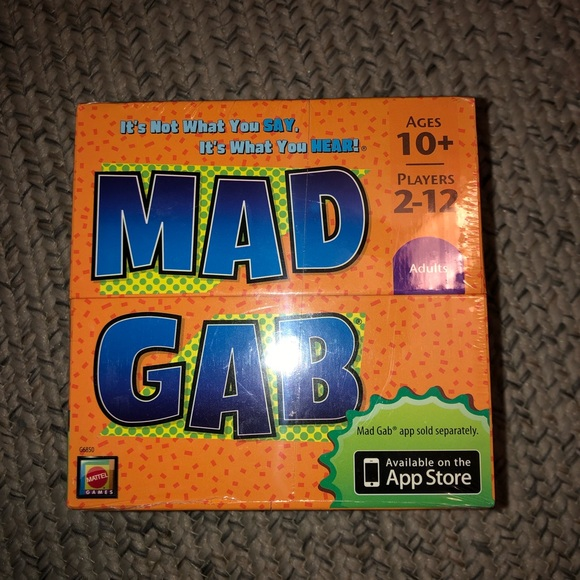 NEW Mad Gab Card Game Factory Sealed